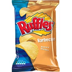 CHIPS RUFFLES BARBEQUE 33gr