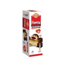 Cookies filled with Strawberry , Family, Violanta (300 g)